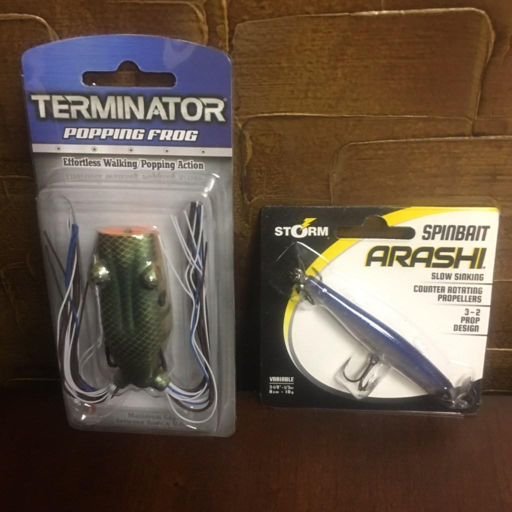 Rapala Terminator Popping Frog, Spinbait Arashi