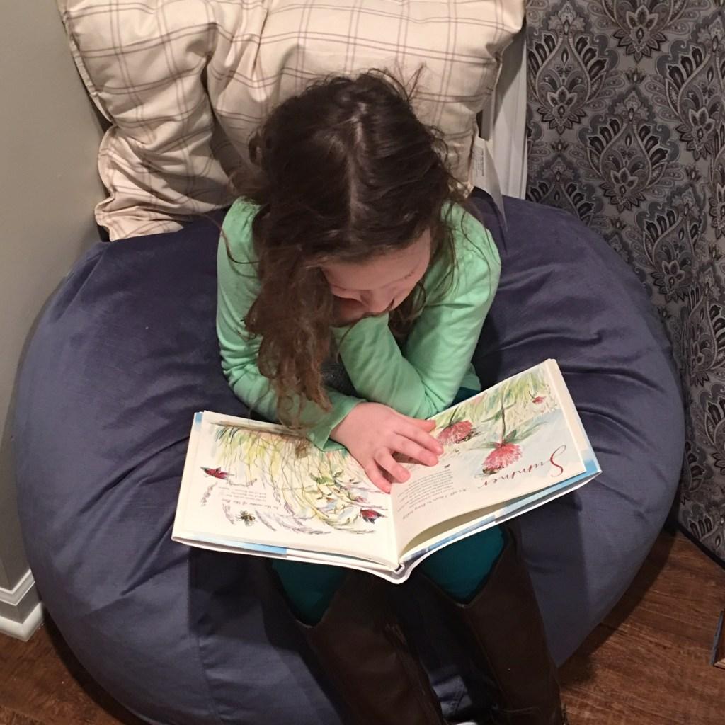 Peyton's Reading Nook