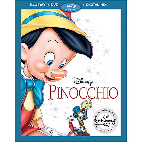 Pinocchio on Blu-Ray