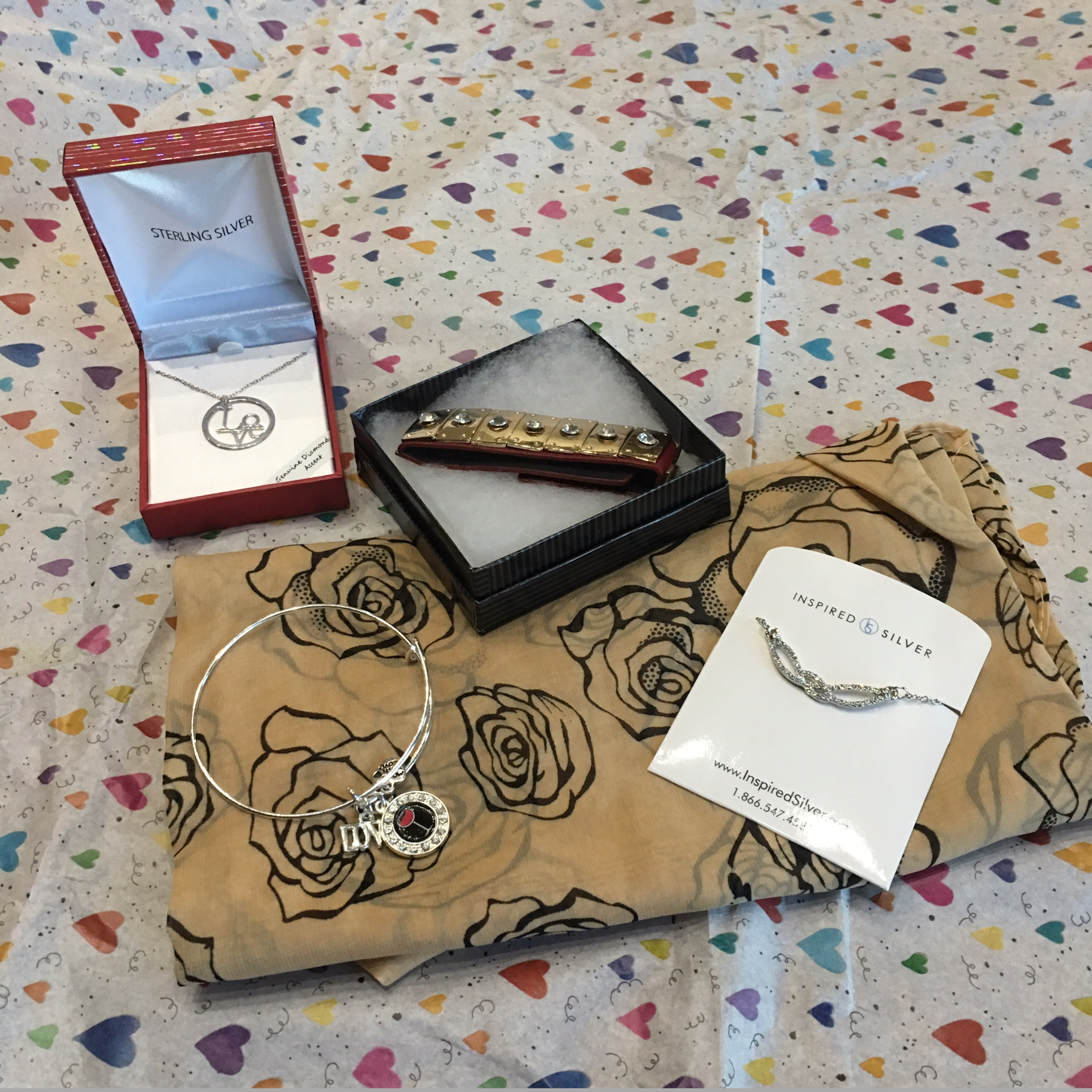 Inspired Silver Jewelry Box