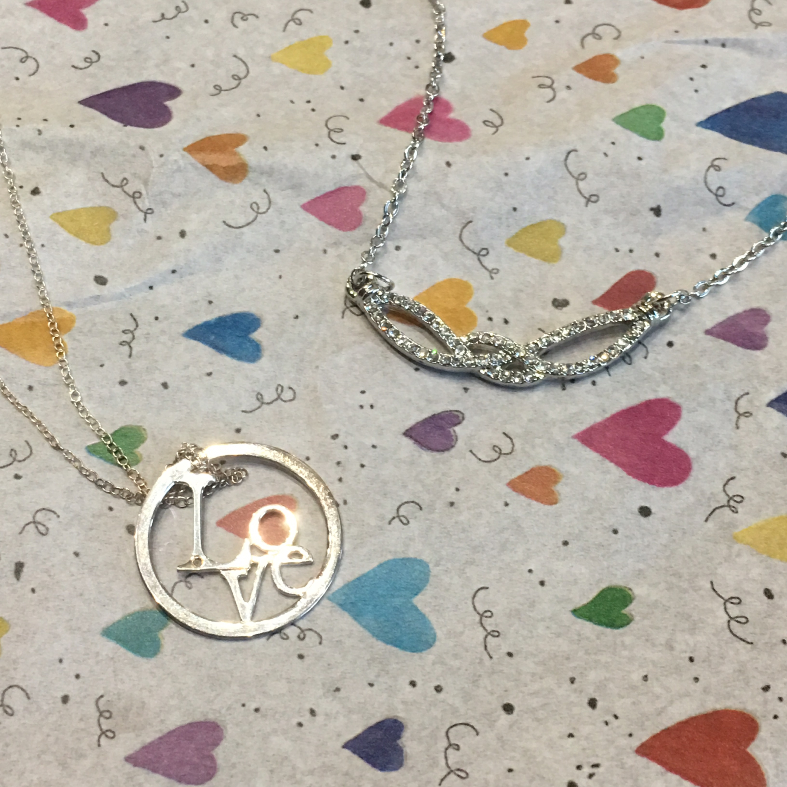 Inspired Silver Jewelry Box Necklaces