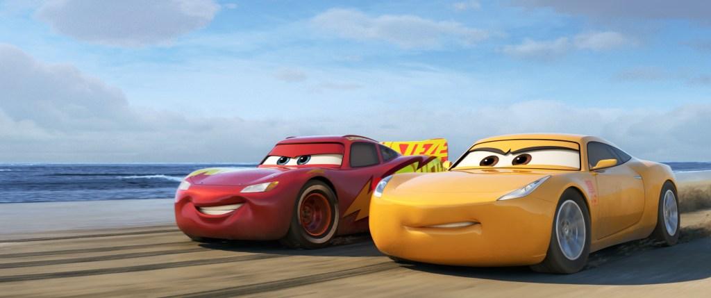 Cars 3 McQueen and Ramirez