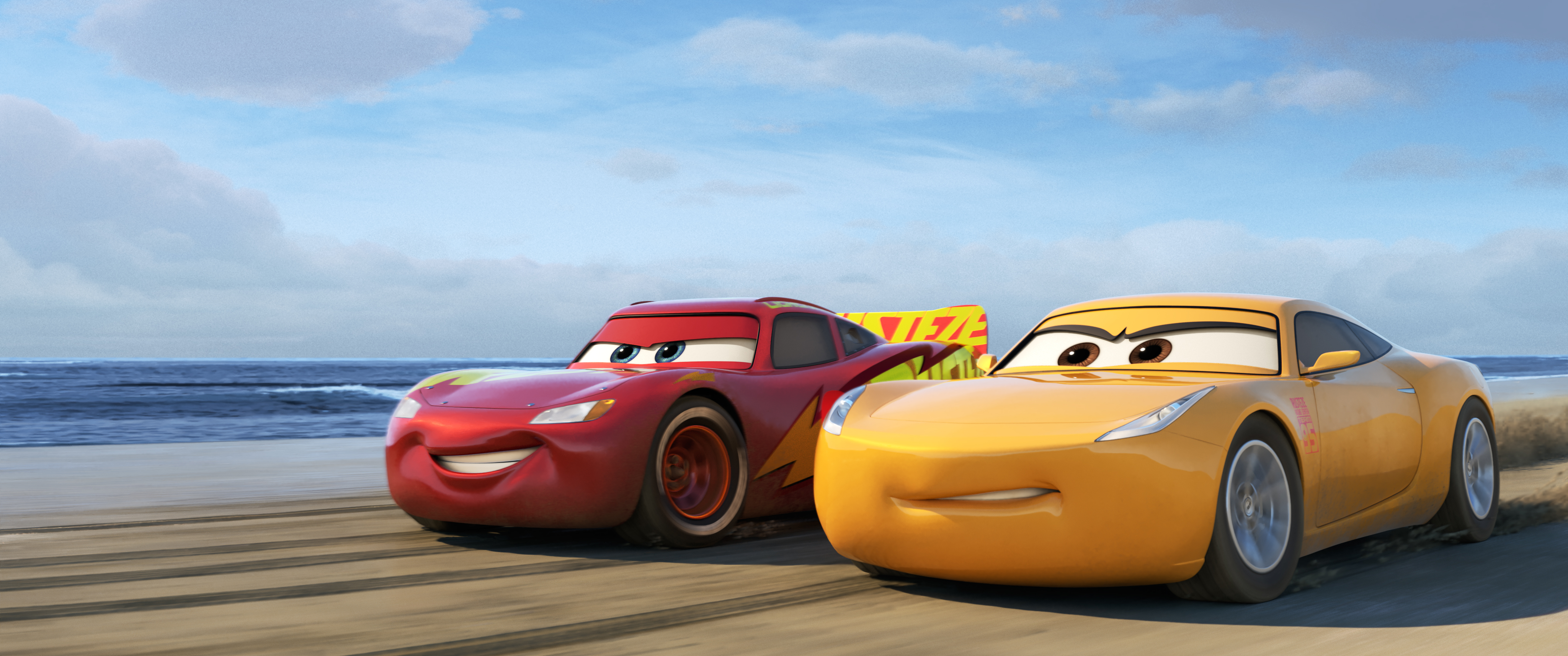 Cars 3 McQueen and Ramirez