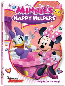 Minnie's Happy Helpers on DVD TOMORROW July 25