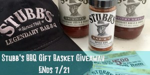 STUBBS'S BBQ Gift Basket Giveaway