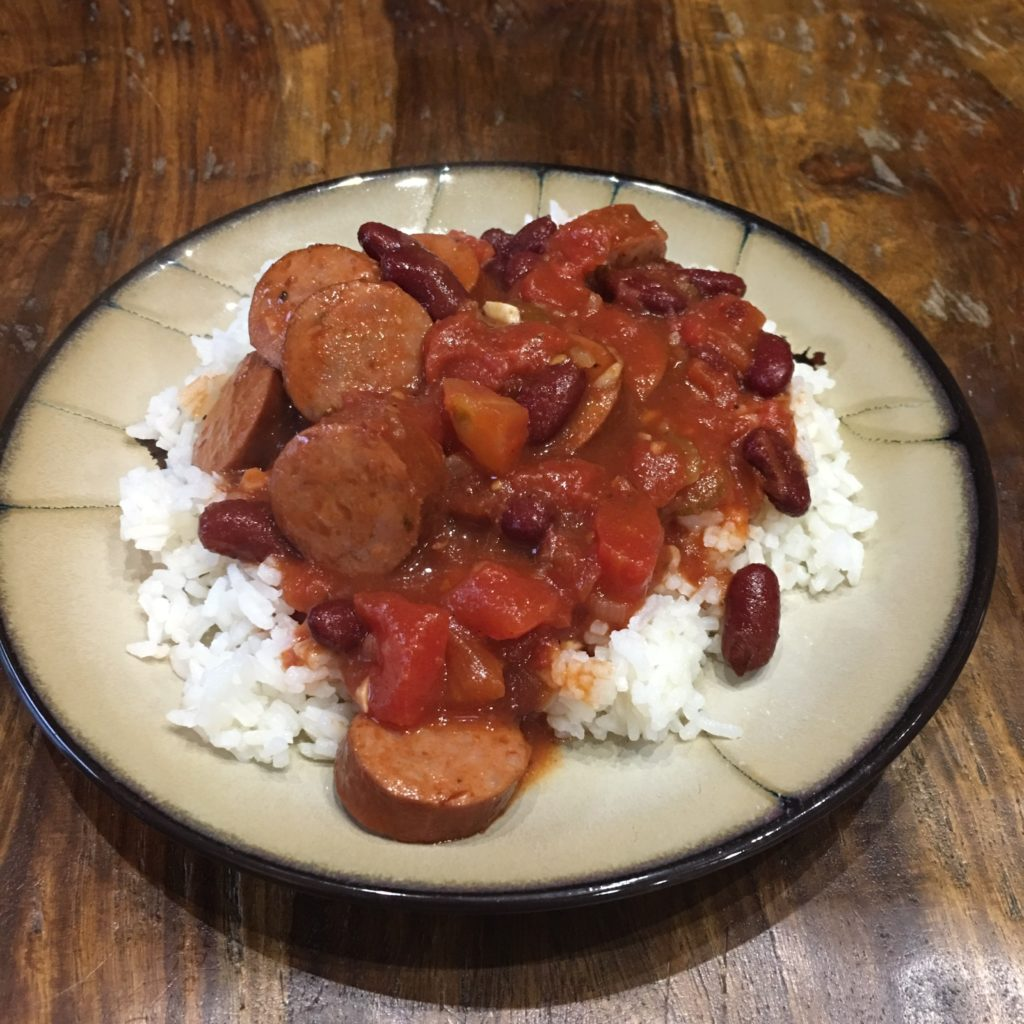 Red Beans and Rice with S & W Beans