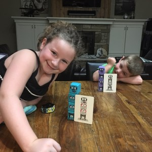 Family Game Night: Lumpy Cubes Hero Edition
