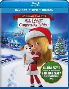 MARIAH CAREY'S ALL I WANT FOR CHRISTMAS IS YOU on Blu-ray™, DVD, Digital and On Demand TODAY!