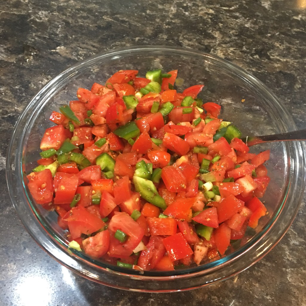 Fresh Salsa without the extras