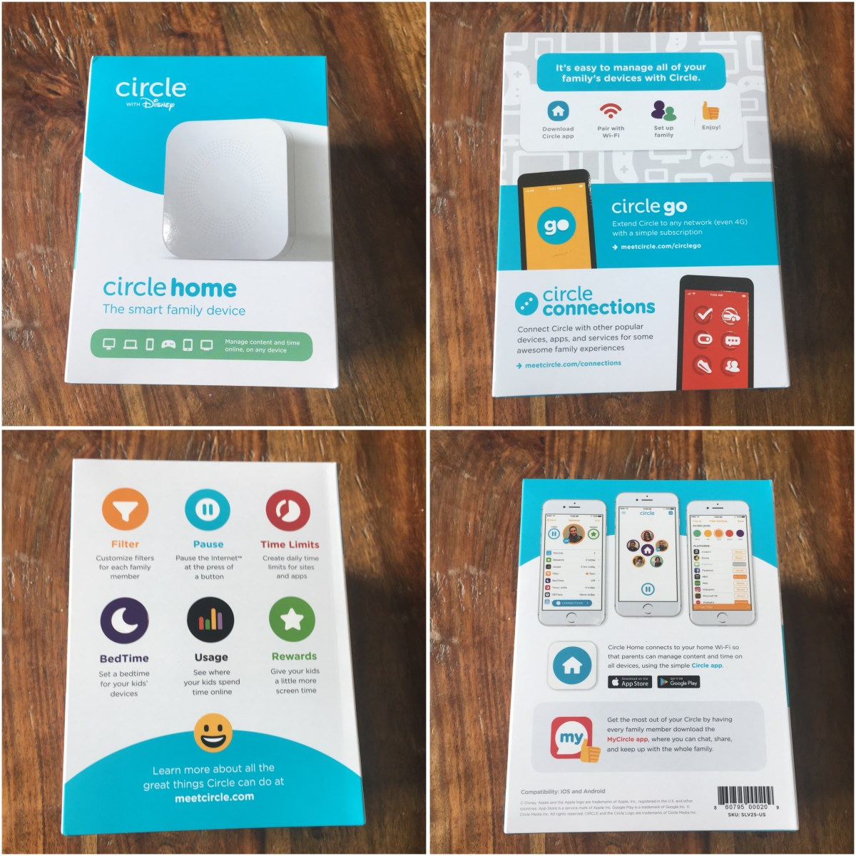 Keep the Family Connected with Circle Home with Disney