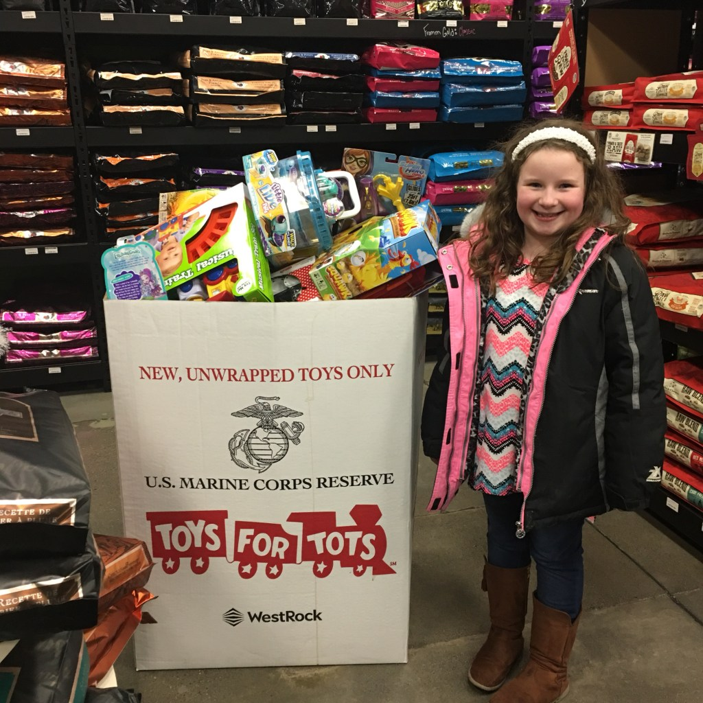 Peyton Toys for Tots