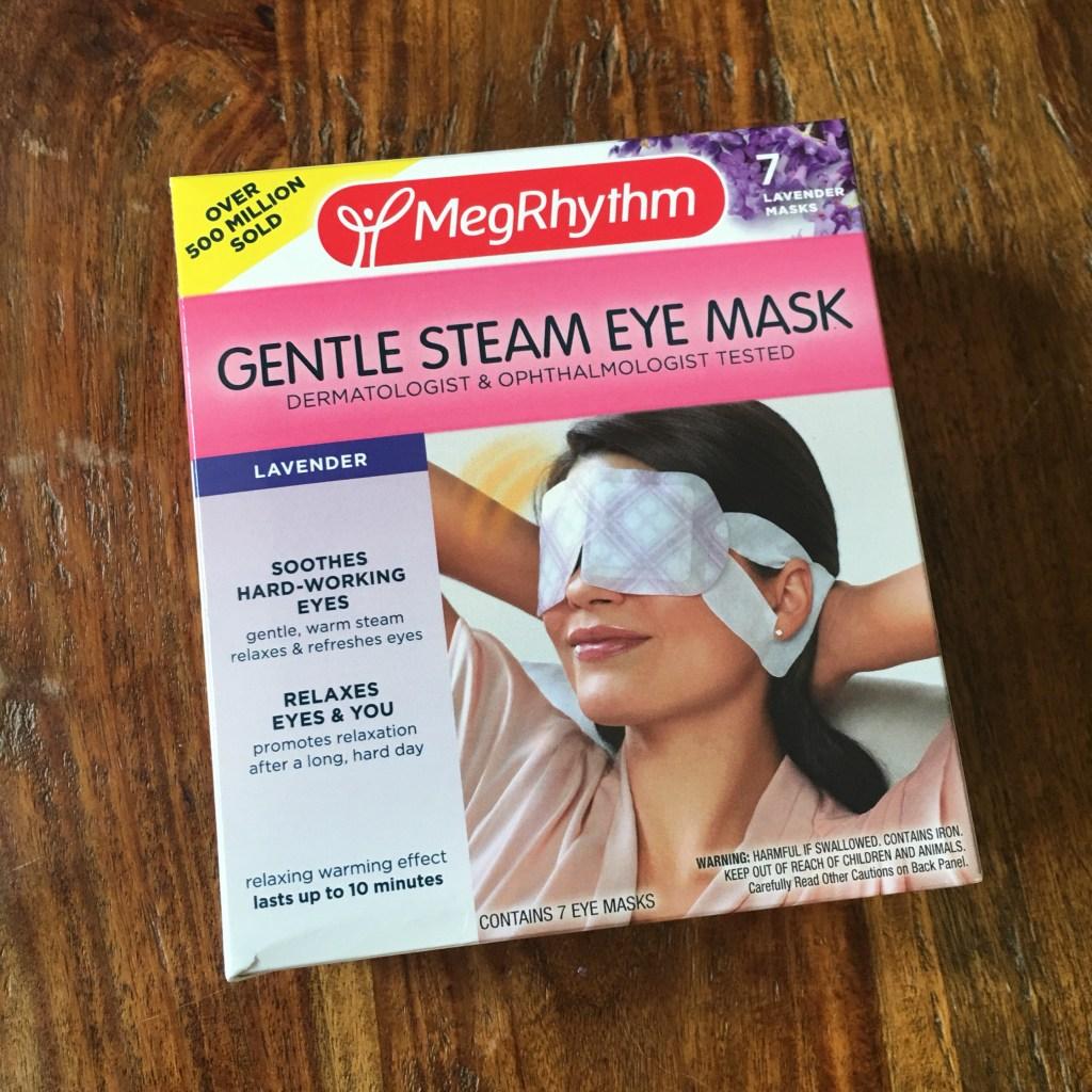 last minute stocking stuffers megrhythm gentle steam eye mask
