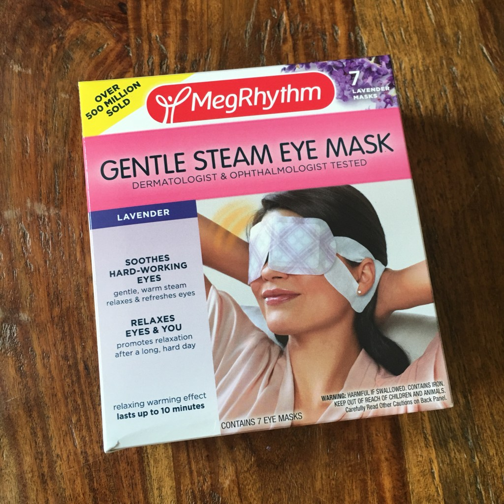 last minute stocking stuffers megrhythm gentle steam eye mask