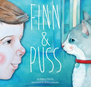 Finn and Puss by Robert Vescio and Melissa Mackie