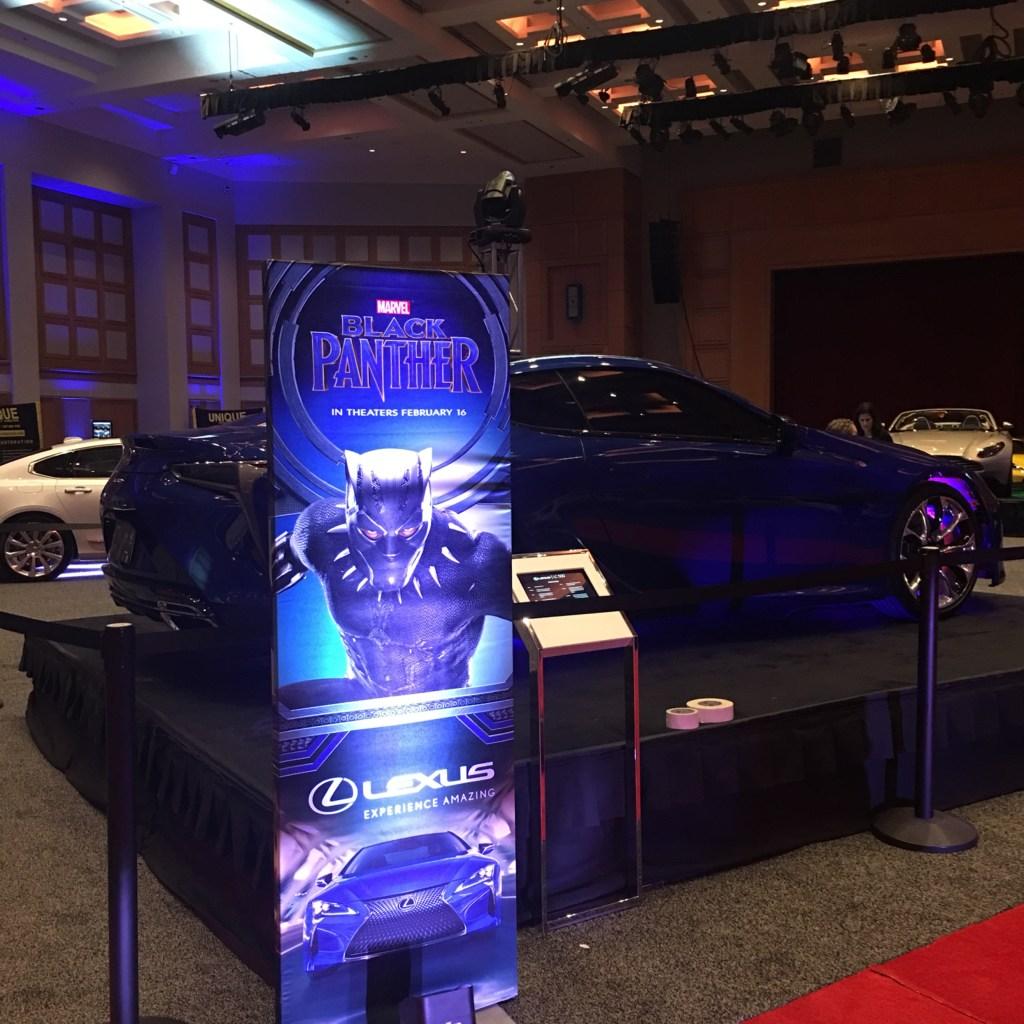 Lexus Black Panther