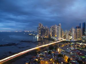 Panama City: The Bridge Of The Americas