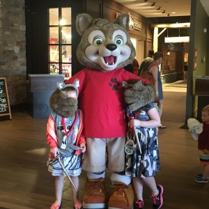 The Girls enjoying some time at Great Wolf Lodge MN