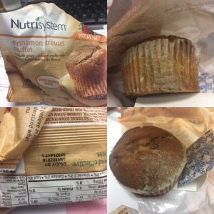 Quit Nutrisystem Mold Muffin