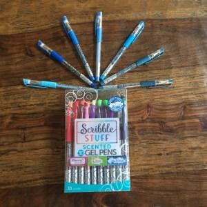Scribble Stuff Scented Gel Pens