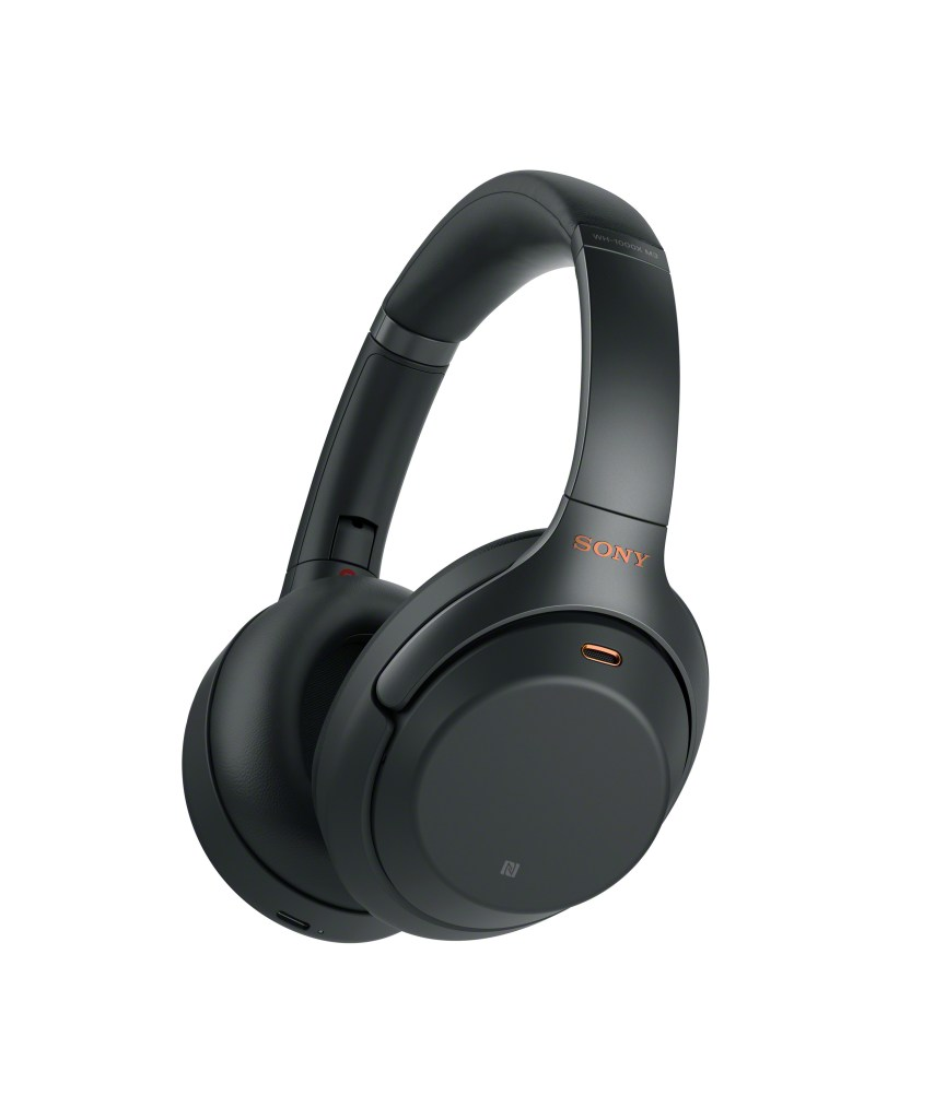 Sony's Noise Canceling Headphones Black