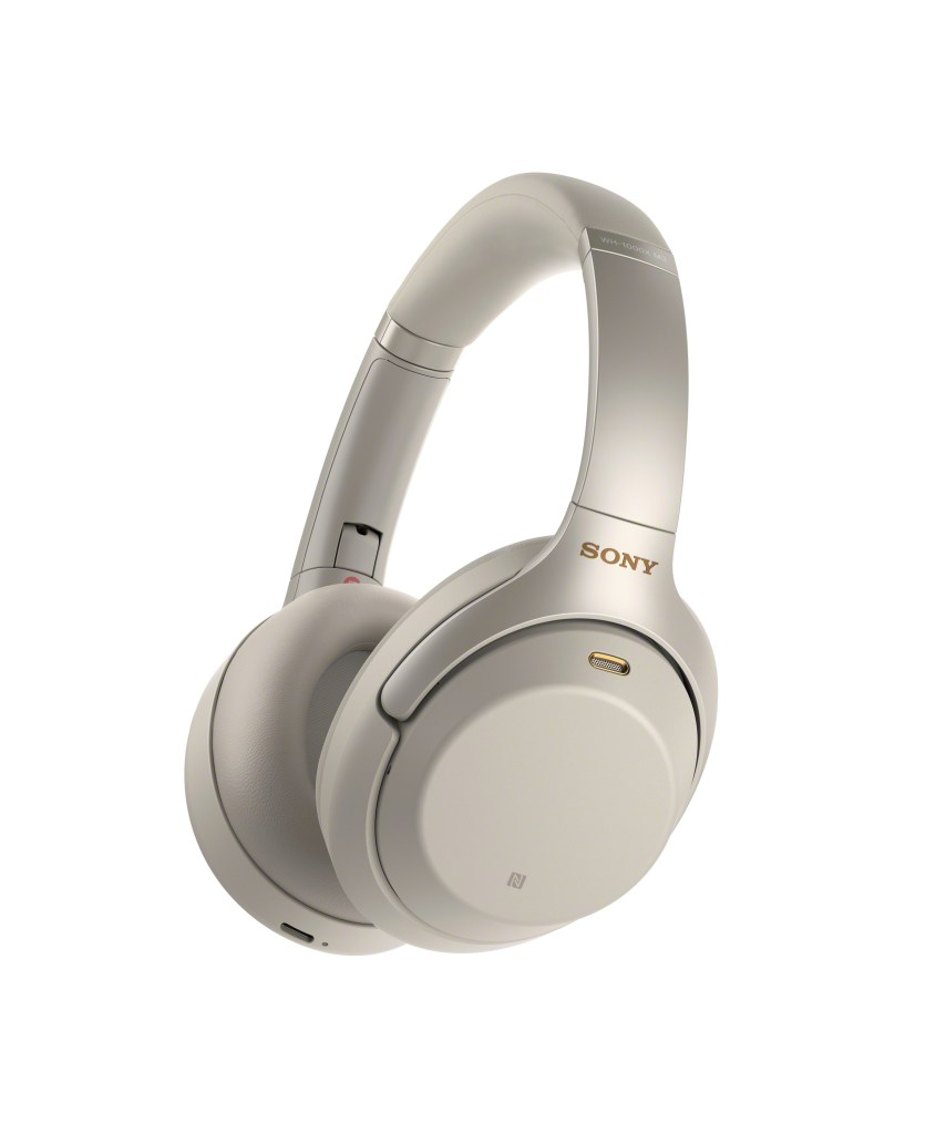 Sony's Noise Canceling Headphones Gold