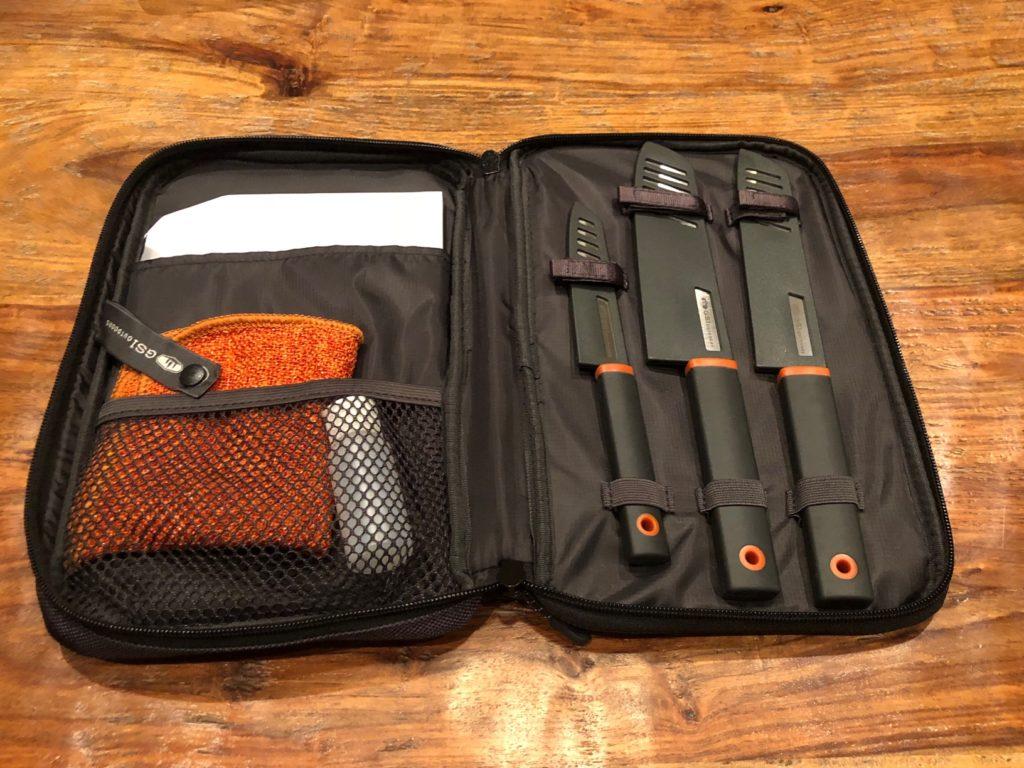 Santoku Knife Set Camping Essentials