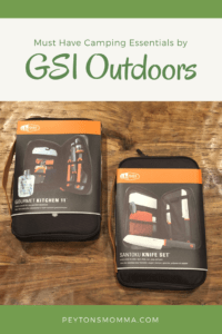GSI Outdoors Camping Essentials