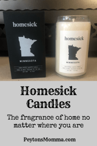 Minnesota Homesick Candles