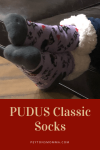 PUDUS I Love My Cat Classic Socks