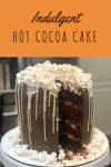 Pinterest Graphic for Hot Cocoa Cake