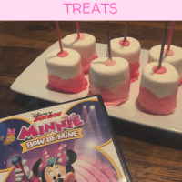 Minnie Mouse Inspired Marshmallow Treats