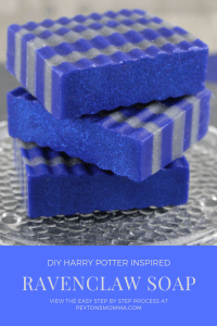 DIY Ravenclaw Soap