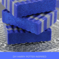 Make Your Own Ravenclaw Layered Soap