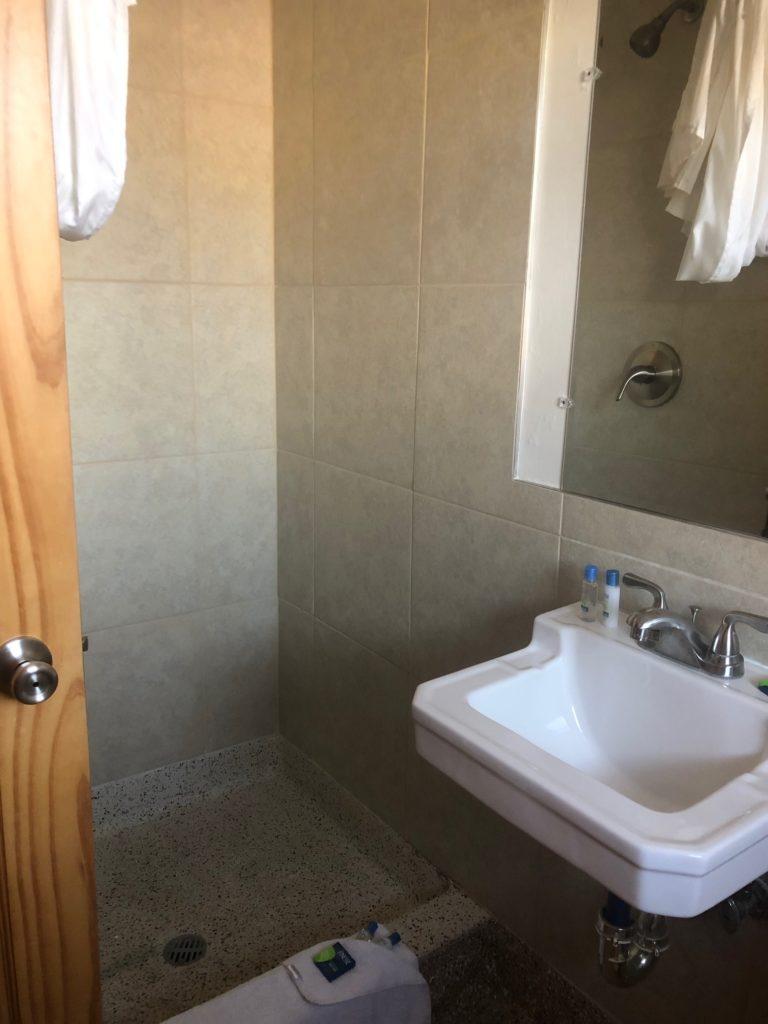 Flamingo Motel and Suites Flamingo Room Bathroom