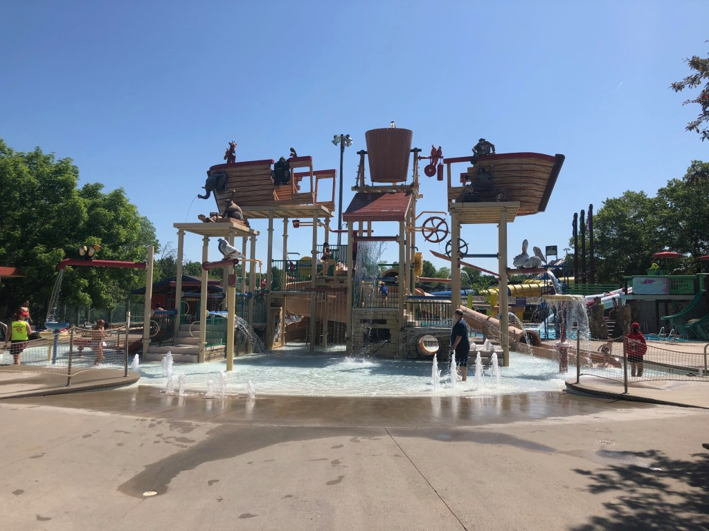 Noah's Ark Waterpark Splash Area