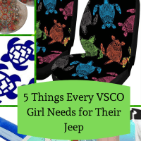 5 Things Every VSCO Girl Needs for Their Jeep