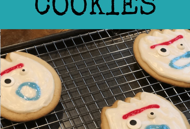 Toy Story 4 Forky Cookies