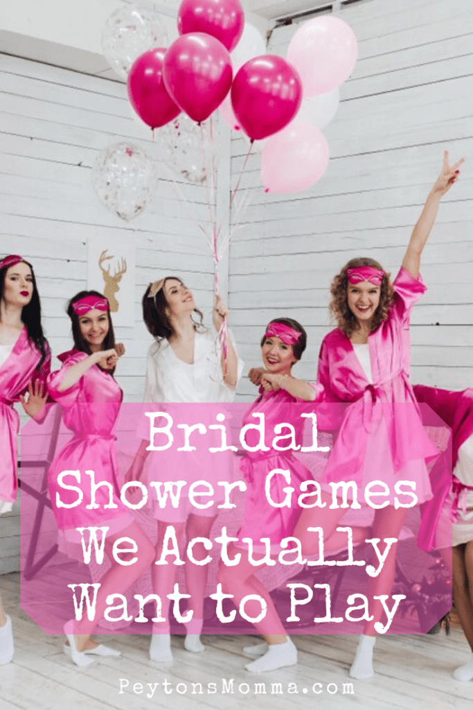 Bridal Shower Games We Actually Want to Play