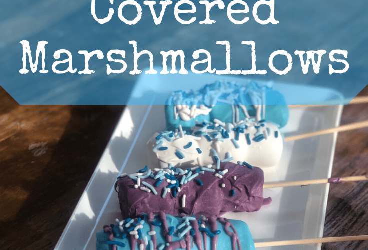 Frozen 2 Chocolate Covered Marshmallows