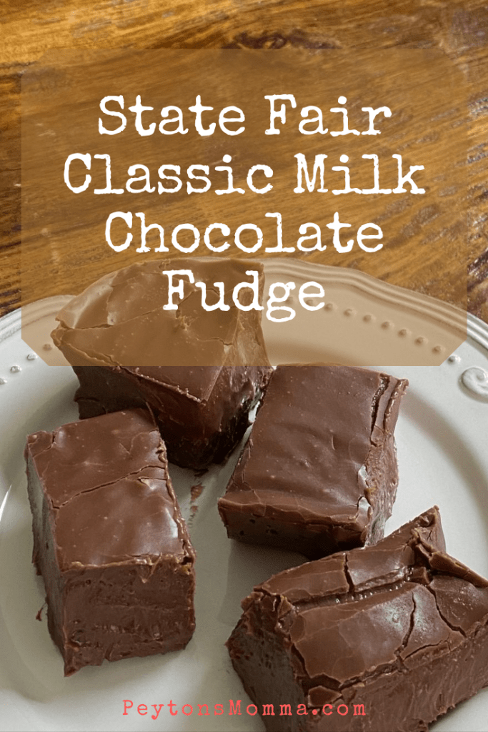Classic Milk Chocolate Fudge