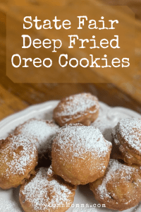 State Fair Deep Fried Oreo Cookies