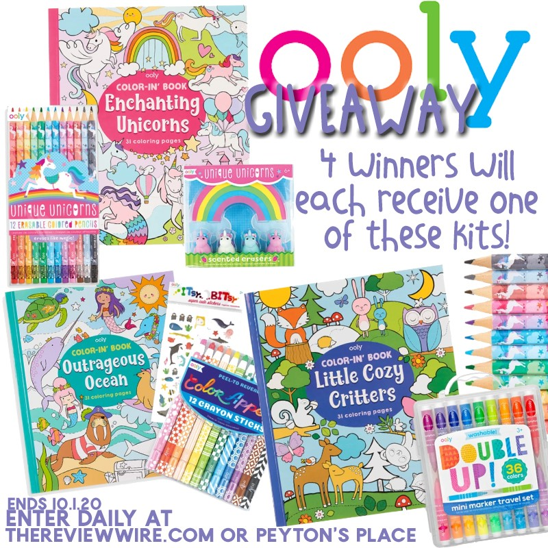 OOLY Giveaway - Peyton's Momma™