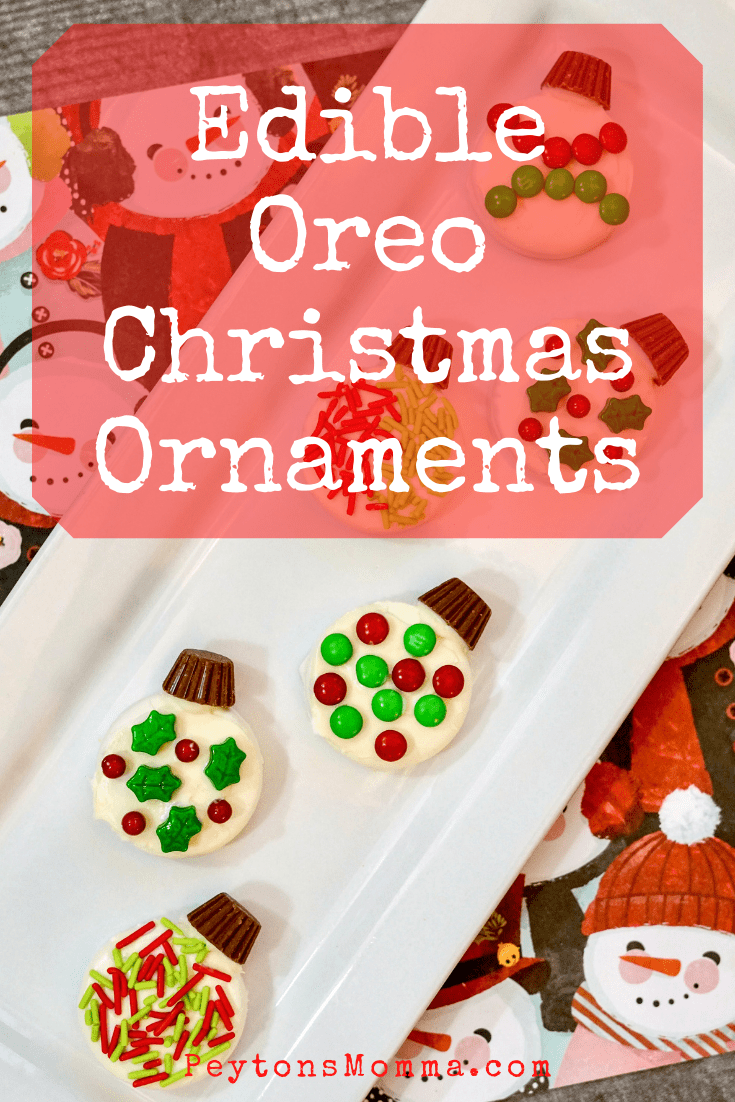 Edible Oreo Christmas Ornaments - Peyton's Momma™