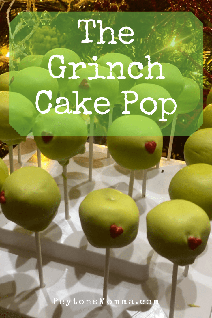 The Grinch Cake Pop - Peyton's Momma™