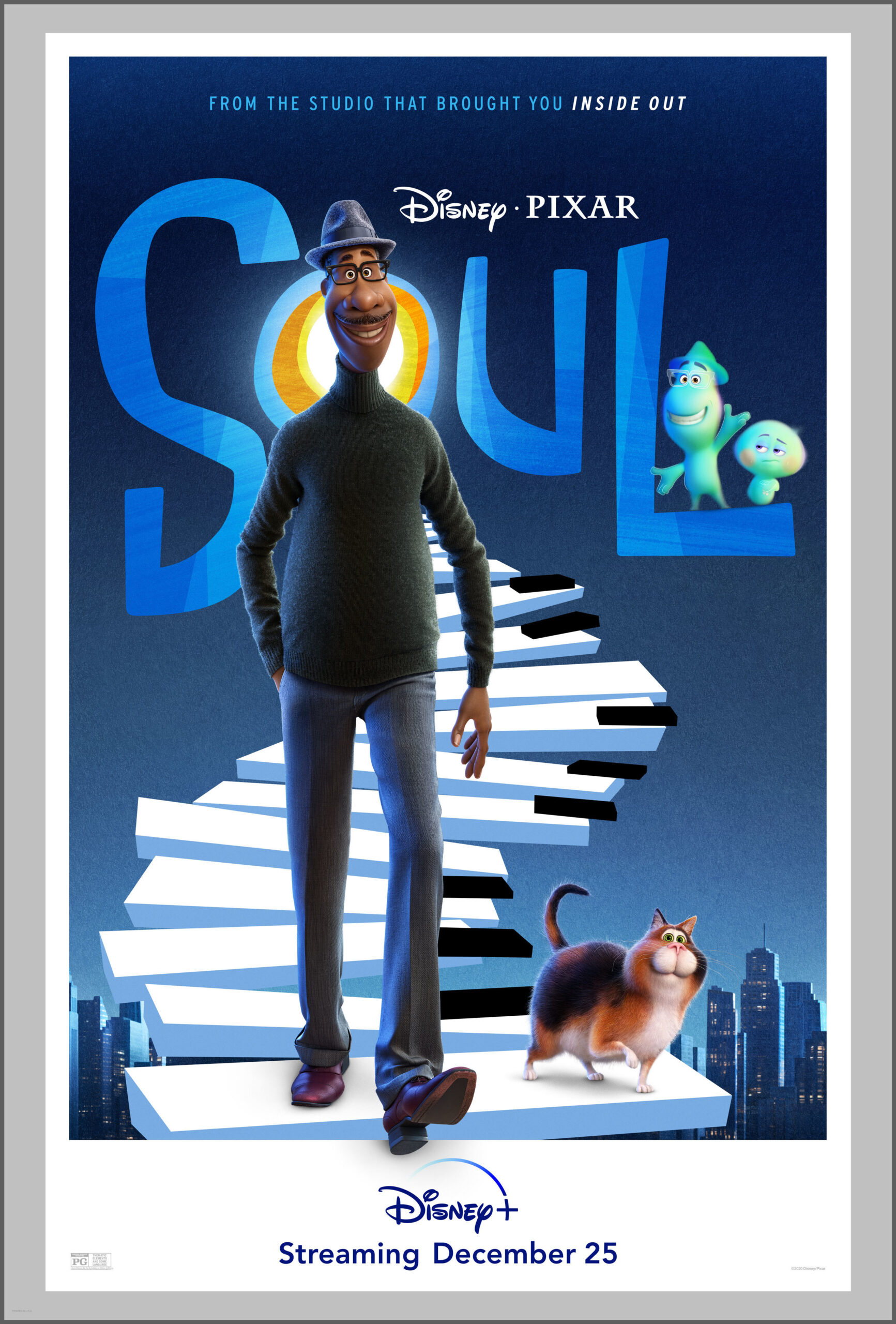 Pixar's Soul Releases Christmas Day on Disney+ - Peyton's Momma™