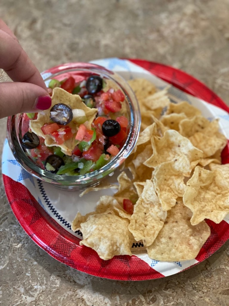 Darrel's Salsa Dip