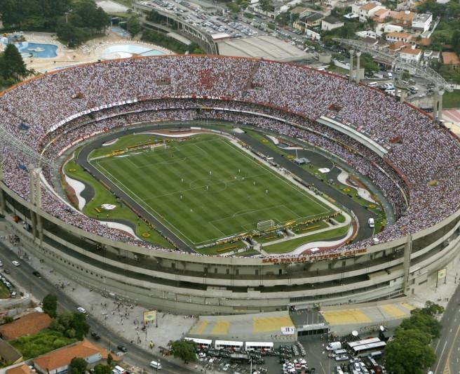 Estádio do Morumbi. Foto: Rubens Chiri