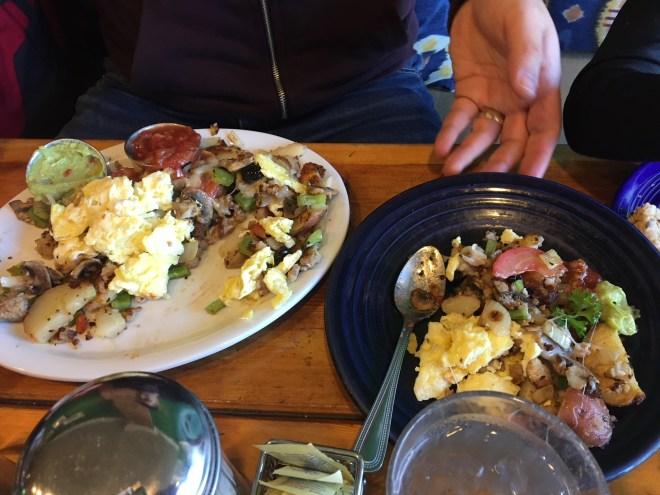Café da manhã no Swift Creek Cafe