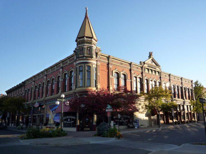 Davidson Building, Ellensburg. Foto: Bobak Ha'Eri, CC-By-SA-3.0