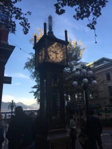 O famoso relógio a vapor de Gastown